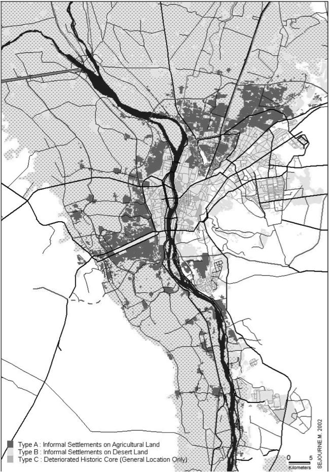Division The areas of informality (map No. 1) Source (GIZ) تقسيم المناطق اللارسمية (خريطة رقم 1) المصدر (GIZ)