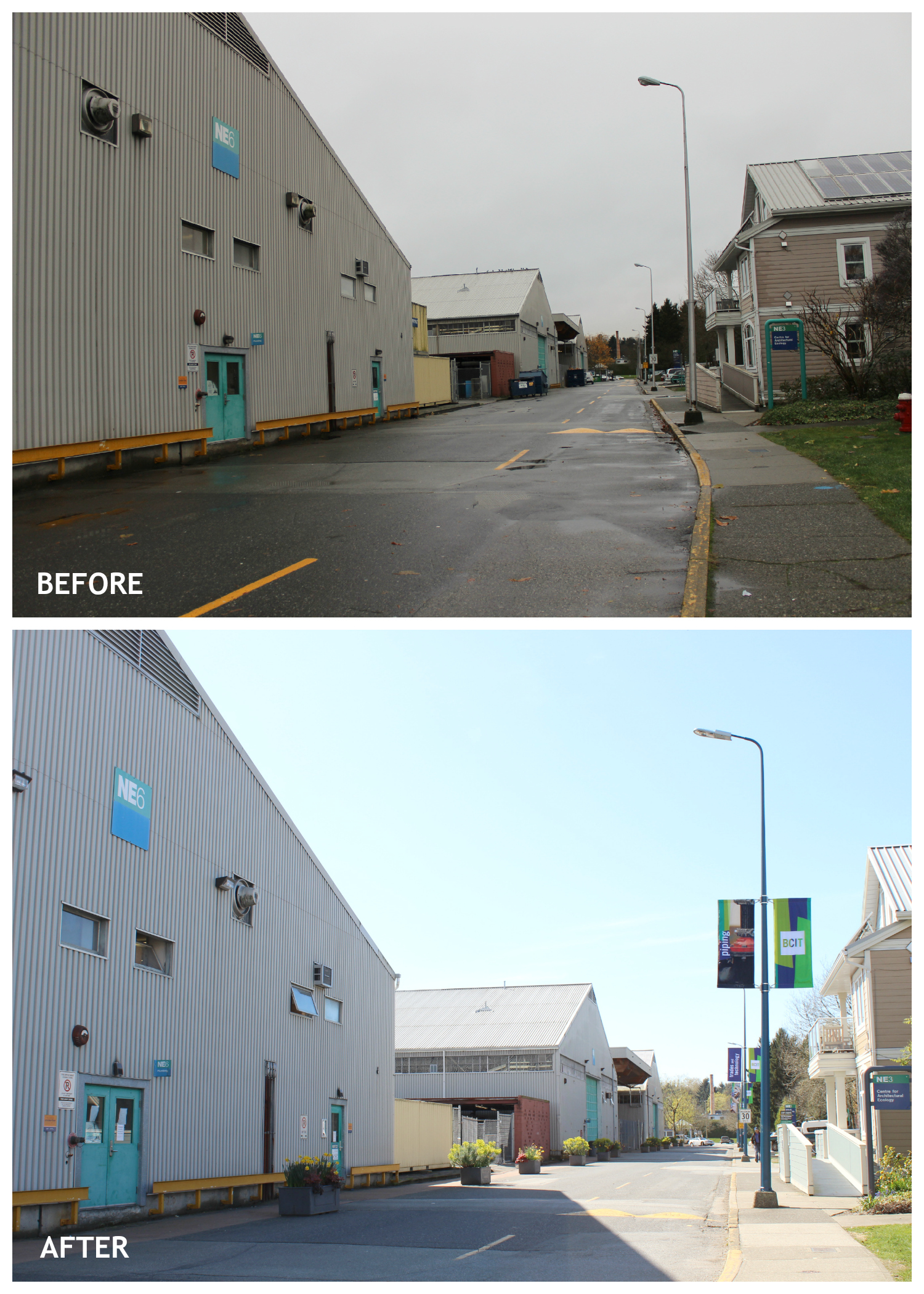 Smith Street Before & After