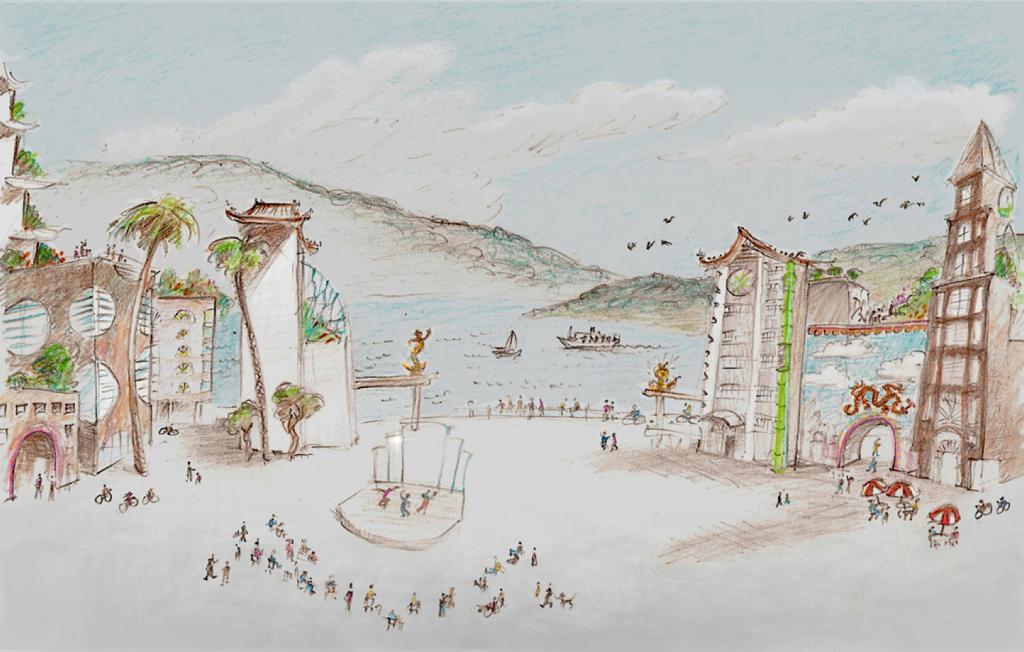 6. Huaibei keyhole plaza